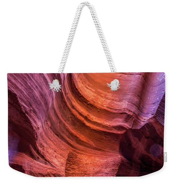 Waterholes Canyon Ribbon Candy Weekender Tote Bag