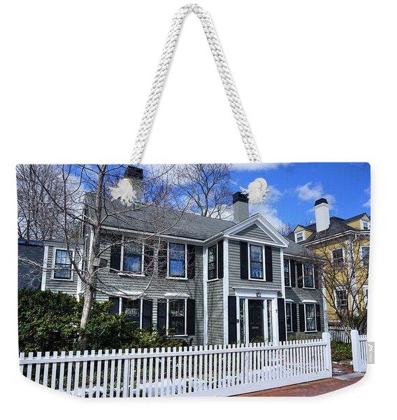 Waterhouse House In Cambridge Weekender Tote Bag