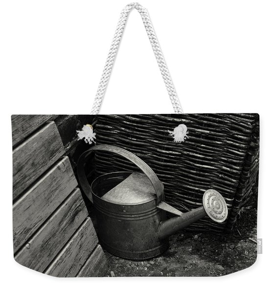 Weekender Tote Bag featuring the photograph Watering Can by Clayton Bastiani