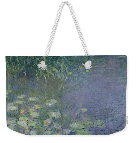 Waterlilies Morning Weekender Tote Bag