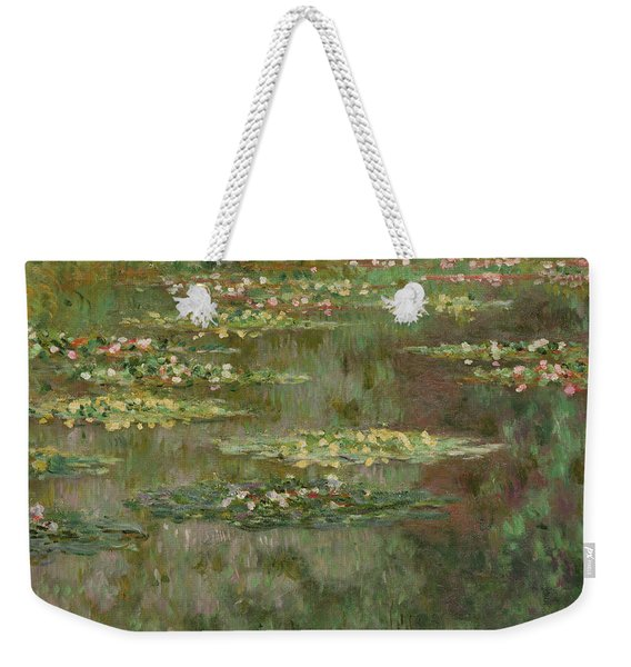 Waterlilies Or The Water Lily Pond Weekender Tote Bag