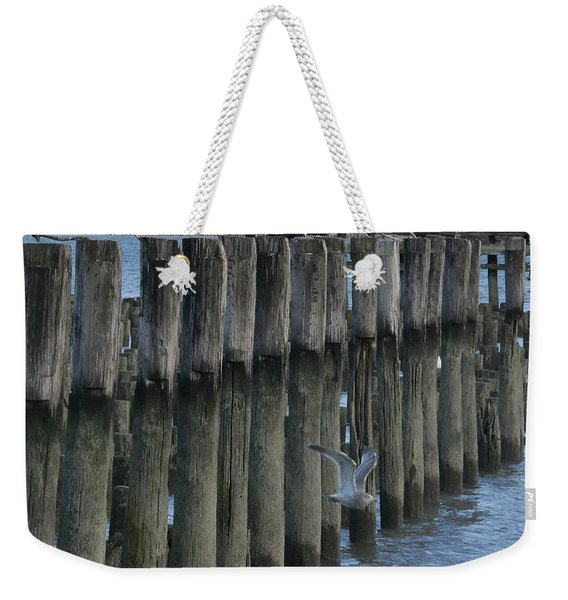 Waterlines Weekender Tote Bag