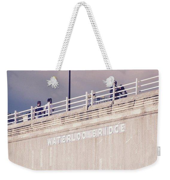 Waterloo Bridge Weekender Tote Bag