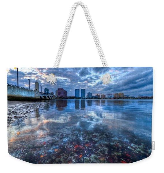 Watery Treasure Weekender Tote Bag