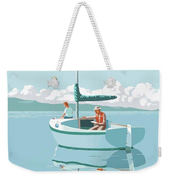 Wating For The Wind Weekender Tote Bag