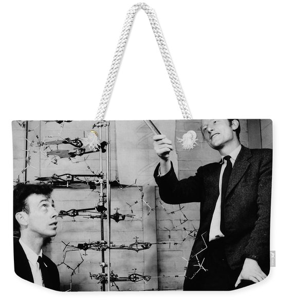 Watson And Crick Weekender Tote Bag