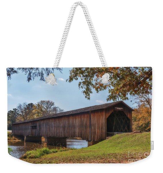 Watson Mill Bridge Weekender Tote Bag