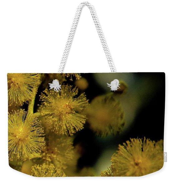Wattle Flowers Weekender Tote Bag