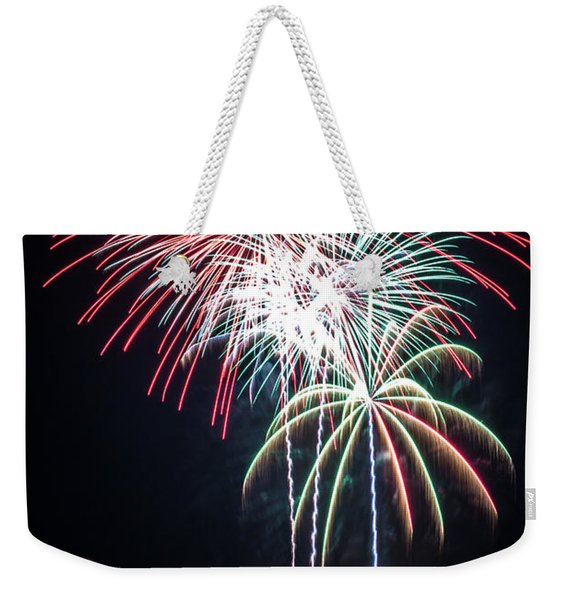 Waukesha Fireworks 01 Weekender Tote Bag