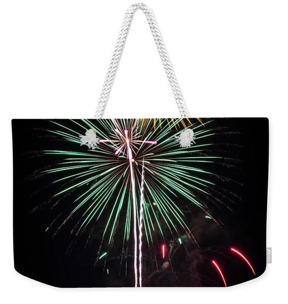 Waukesha Fireworks 02 Weekender Tote Bag