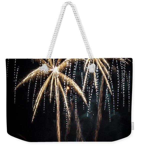 Waukesha Fireworks 05 Weekender Tote Bag