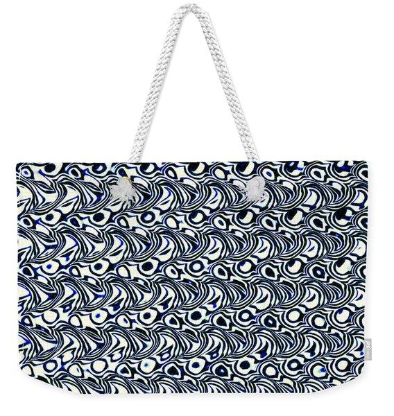 Wave -02- Weekender Tote Bag