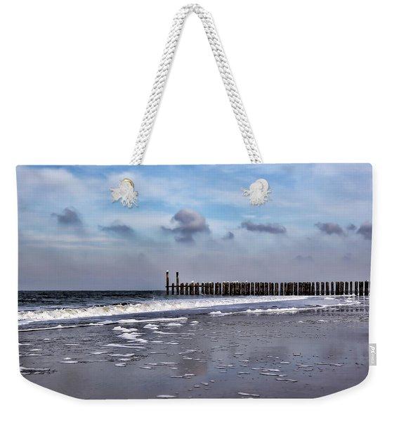 Wave Breakers Weekender Tote Bag