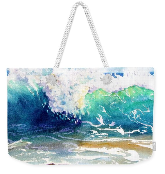Wave Color Weekender Tote Bag