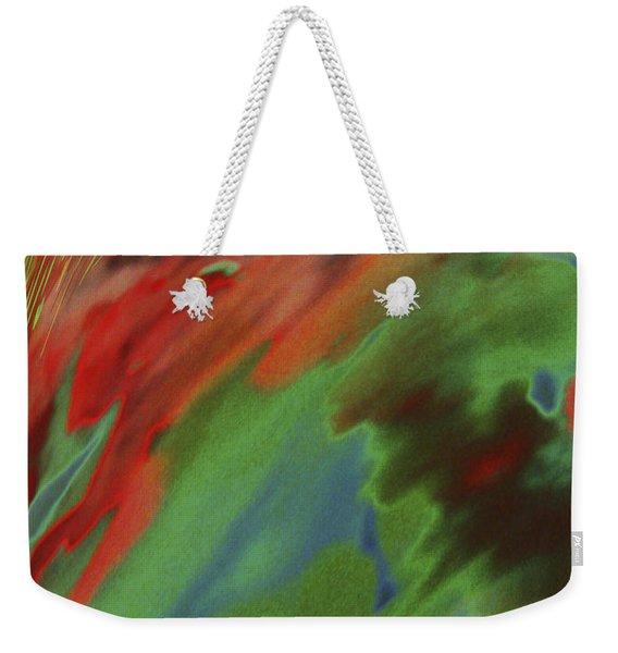 Wave Weekender Tote Bag
