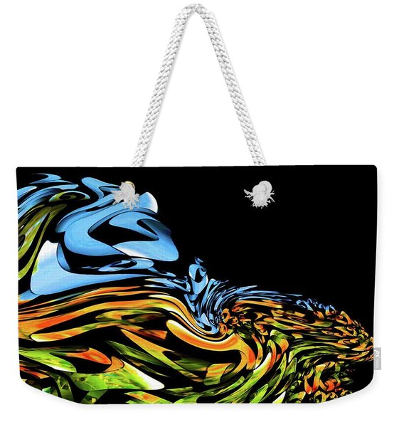 Wave Of Colors Weekender Tote Bag