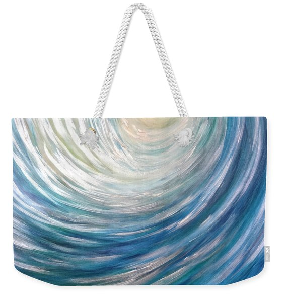 Wave Of Light Weekender Tote Bag