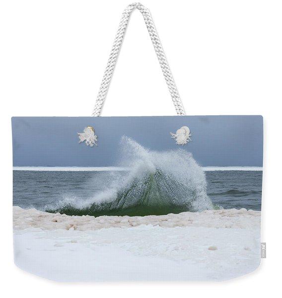 Wave Of Texture Weekender Tote Bag