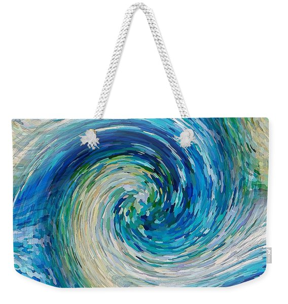 Wave To Van Gogh II Weekender Tote Bag