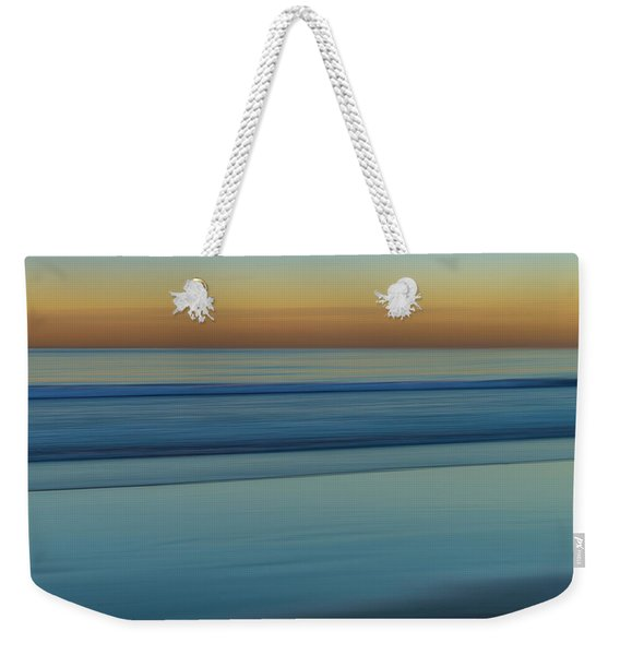 Wave Tracks 3 Weekender Tote Bag