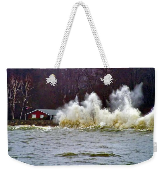 Waveform Weekender Tote Bag
