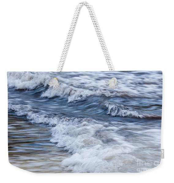 Waves At Shore Weekender Tote Bag