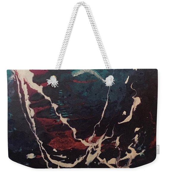 Life's Waves Weekender Tote Bag