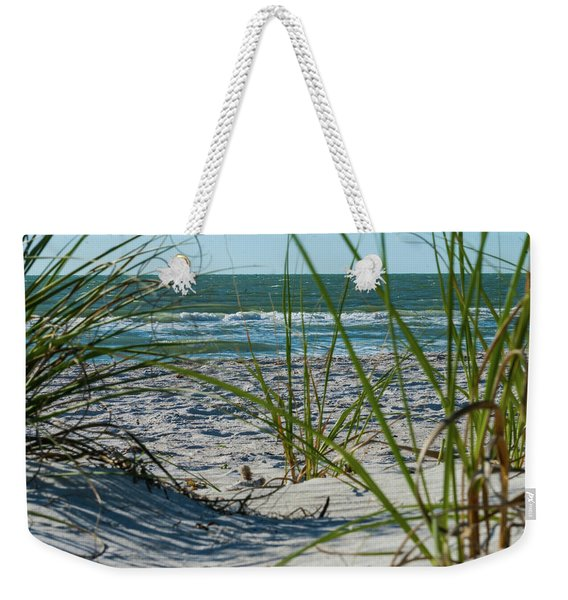 Waves Through The Grass Weekender Tote Bag