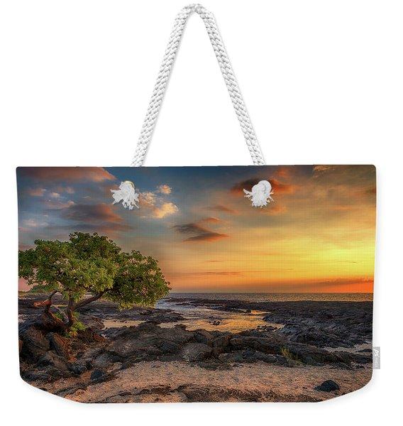 Wawaloli Beach Sunset Weekender Tote Bag