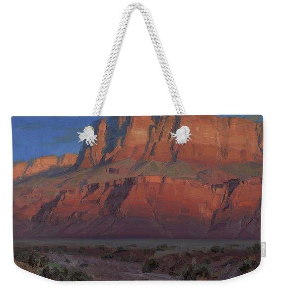 Waxing Moon Weekender Tote Bag