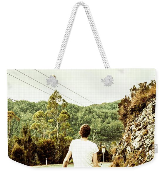 Way Of Old Travel Weekender Tote Bag