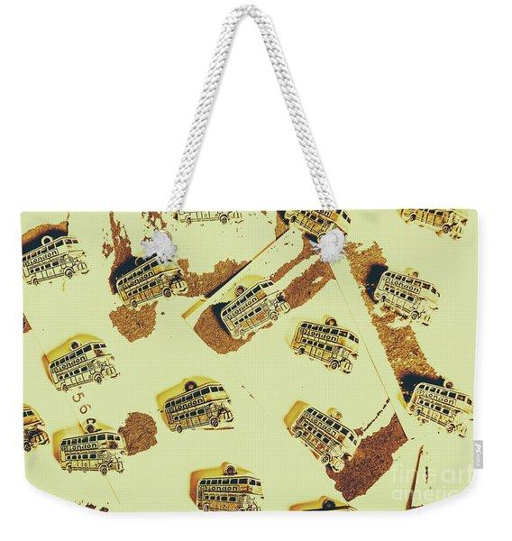 Wayback England Weekender Tote Bag