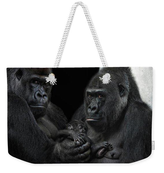 We Are Family Weekender Tote Bag