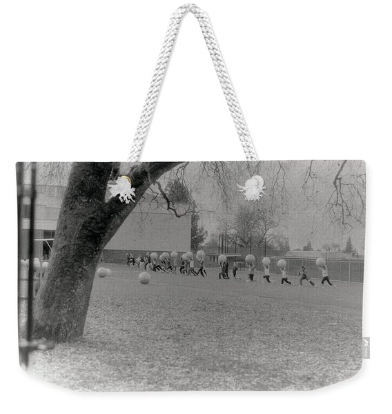 We Are The World Funny Photo Weekender Tote Bag
