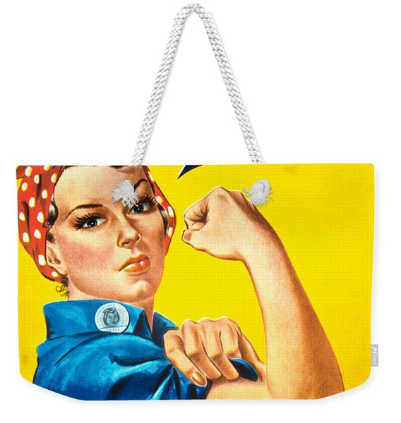 We Can Do It Weekender Tote Bag