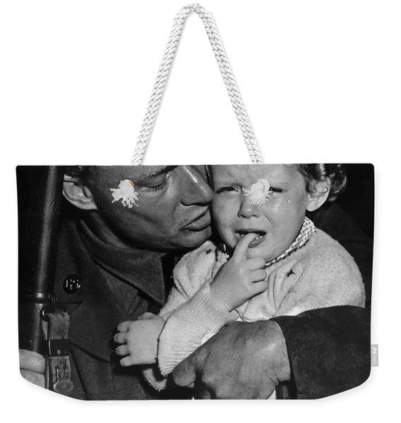 We Can't All Go - Ww2 Propaganda  Weekender Tote Bag