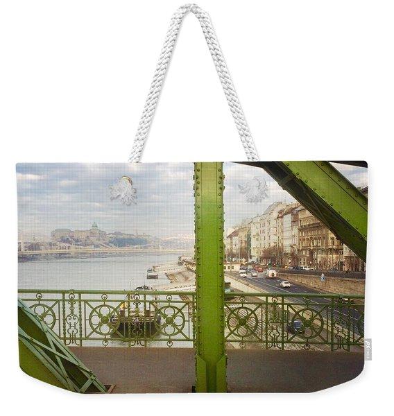 We Live In Budapest #4 Weekender Tote Bag