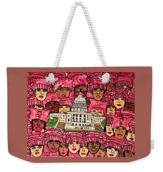 We Matter Weekender Tote Bag