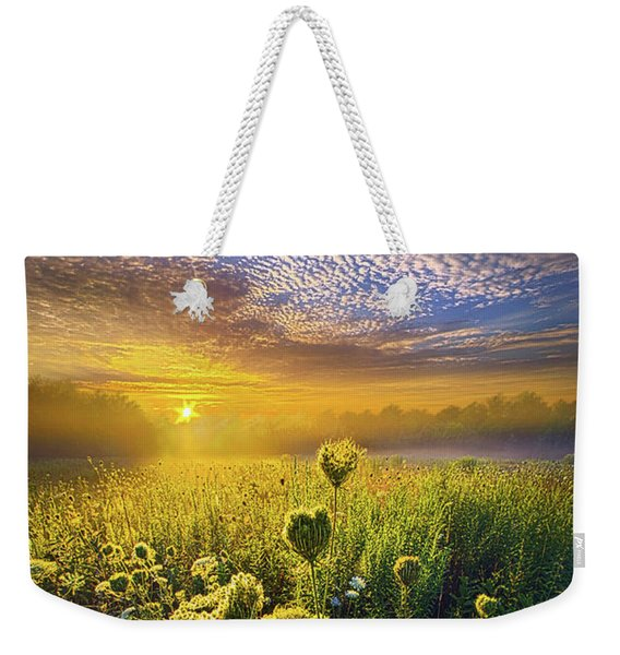 We Shall Be Free Weekender Tote Bag