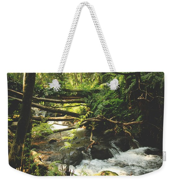 We Were Young And Wild And Free Weekender Tote Bag