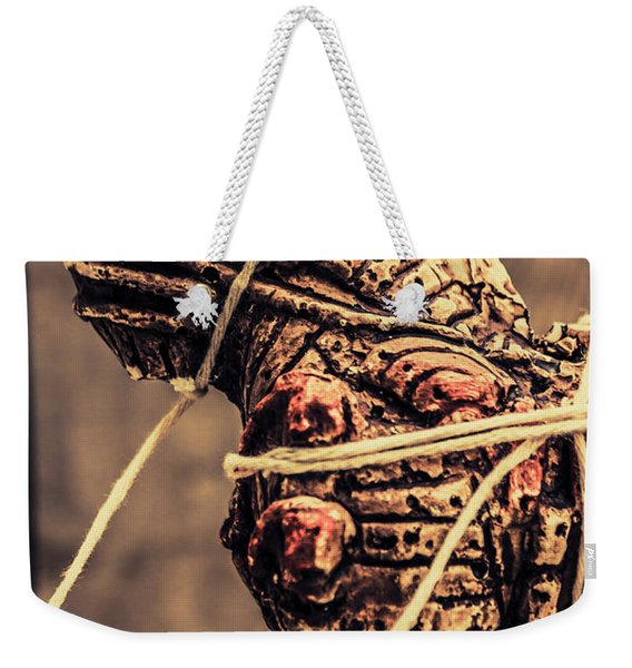 Weapon Of Mass Construction Weekender Tote Bag