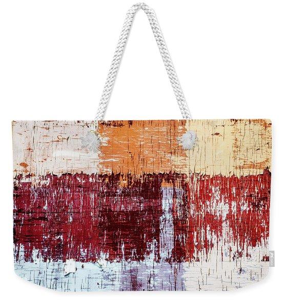 Weathered Wood Colorful Crossing 3 Of 3 Weekender Tote Bag