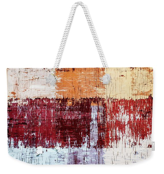 Weathered Wood Colorful Crossing 3 Of 3 Weekender Tote Bag