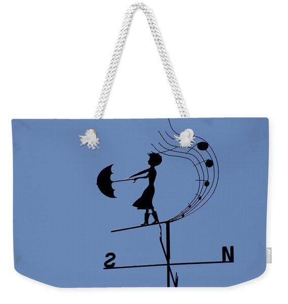 Weathergirl Weekender Tote Bag