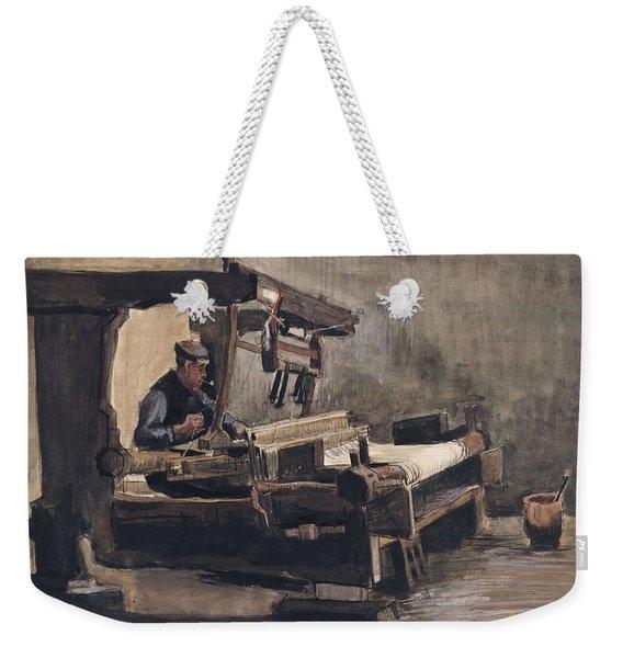 Weaver Nuenen, December 1883 - August 1884 Vincent Van Gogh 1853 - 1890 2 Weekender Tote Bag