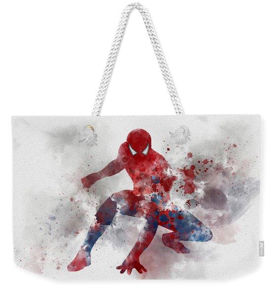 Web Head Weekender Tote Bag