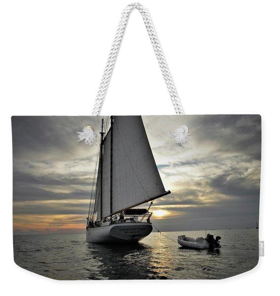 Wedding At Sea Weekender Tote Bag