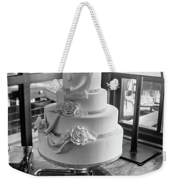Wedding Cake Bw Series 0956 Weekender Tote Bag