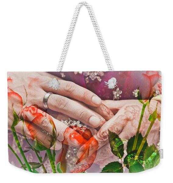 Wedding  Weekender Tote Bag