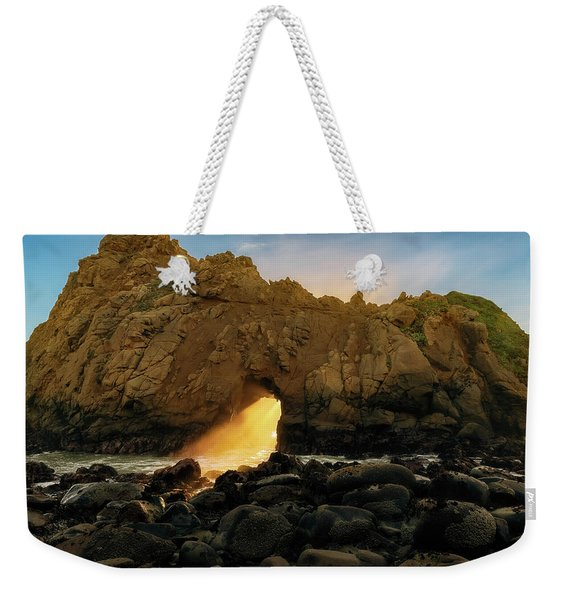 Wedge Of Light Weekender Tote Bag